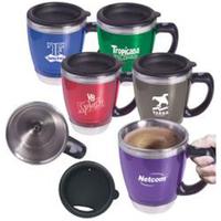 "16 oz acrylic/stainless steel java ""Stir"" mug"
