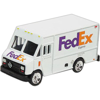 1/64 scale delivery van (FedEx)