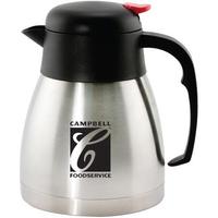 34 oz (1 liter) stainless steel vacuum carafe