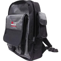High-tech padded computer backpack
