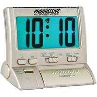 Large digit backlit alarm clock
