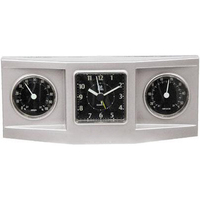 3-dial weather station alarm clock
