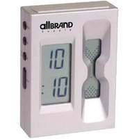 Digital sand countdown timer and alarm clock