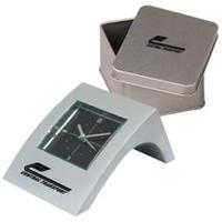 Mini angle aluminum alarm clock