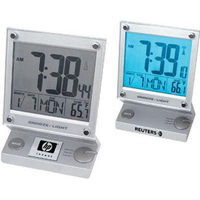 Touch-screen jumbo LCD radio-controlled alarm clock