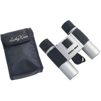 10x25 high-tech compact binoculars and nylon case