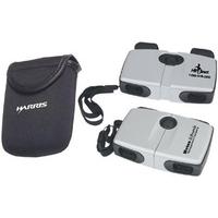 7x17 compact aluminum pocket binoculars