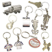 Die-cast key chains