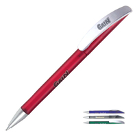 Translucent Polymer Retractable Ballpoint Pen