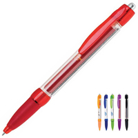 Polymer Ballpoint Pen w/ Pull Out Banner