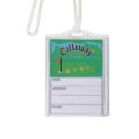 Logo In-Motion Luggage Tag (Golf Green)