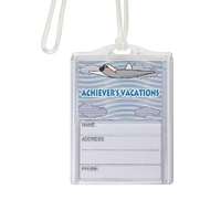Logo In-Motion Luggage Tag (Airplane)