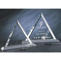 Large Crystal Trig Award