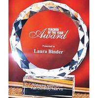 Large Crystal Victory Award