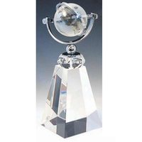 Medium Crystal Meridian Tower Award