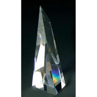 Large Crystal Victory Tower Award