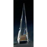Large Crystal Pyramid Tower Award