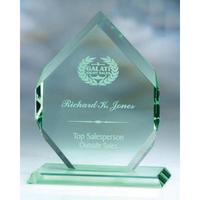 Medium Jade Glass Emperor's Jewel Award
