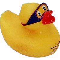 Swimmer duck