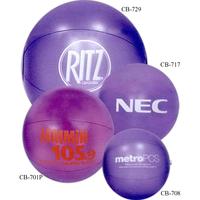 Translucent beach ball