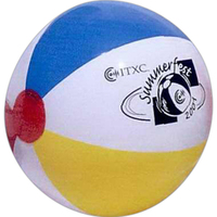 Mulit-color beach ball