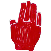 Inflatable high-five hand