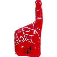 Inflatable number 1 hand