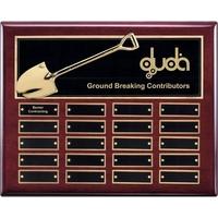 Shovel Perpetual Plaque - Rosewood