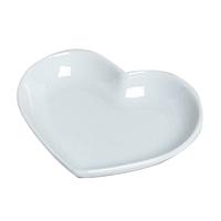 Bonbon flat heart shaped candy dish