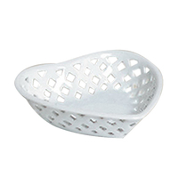 Bonbon heart shape candy dish with openwork