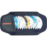 Micro fiber visor CD organizer