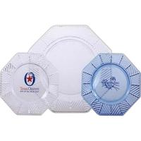 Plastic octagonal dinner plate