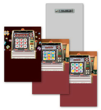 Lapel Pin with Casino Design, Lenticular Animation