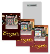 Lenticular Lapel Pin Casino Design, Lenticular Animation