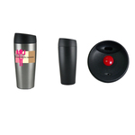 16oz Insulated Travel Mug with Push Top Lid, spot color