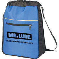 Expandable Drawstring Backpack