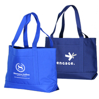 Solid Color Poly Tote