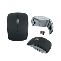 Foldable 2.4GHZ Wireless Optical Mouse/Mice