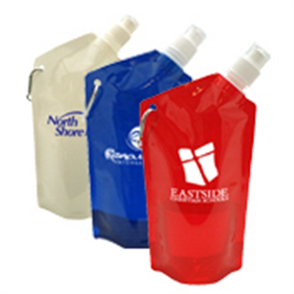 27 oz. Collapsible Reusable Water Bottle