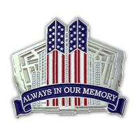 9-11 Twin Towers Pin