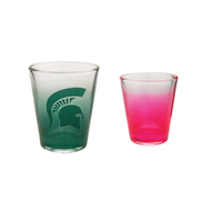 1.5oz Colored Shot Glass, spot color process