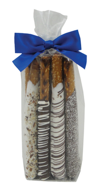 Chocolate Pretzel Rods - Gift Bag