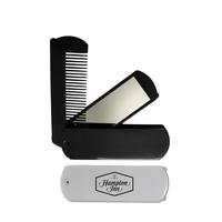 Folding comb mirror