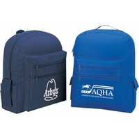Poly One Color Backpack