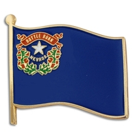 State - Nevada State Flag Pin