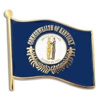 State - Kentucky State Flag Pin