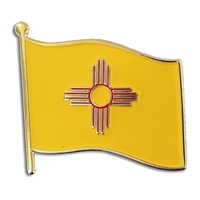 State - New Mexico State Flag Pin