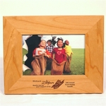 "Wood Picture Frame for 4"" x 6"" Photo"