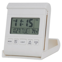Travel Alarm Clock with LED Backlight
