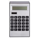 Silver Plastic Solar Calculator